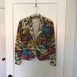 Floral fitted cardigan HWR